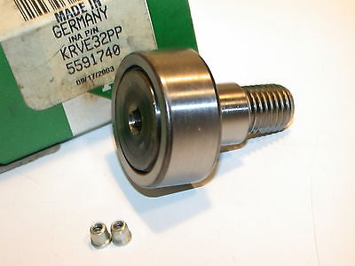 UP TO 8 NEW INA 32MM NEEDLE ROLLER CAM FOLLOWER BEARINGS KRVE32PP