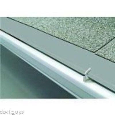 NEW GUTTER GENIUS 3 PCS 4' PANELS GRAY #03415