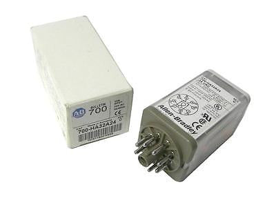 ALLEN BRADLEY AB GENERAL PURPOSE RELAY 24V 10A MODEL 700-HA32A24