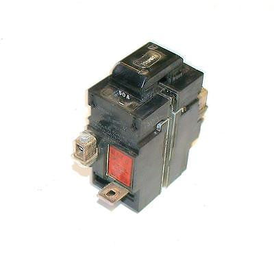 BULLDOG ELECTRIC 50  AMP 2-POLE CIRCUIT BREAKER 120/240 VAC  31250 (2 AVAILABLE)