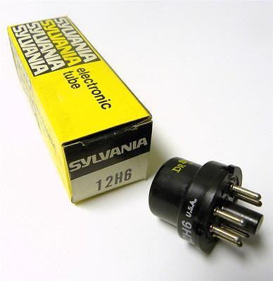 NEW SYLVANIA ELECTRIC POWER TUBE MODEL 12H6