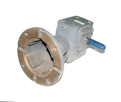 NEW BOSTON GEAR SPEED REDUCER GEARBOX RATIO 50: 1 MODEL RF713-50-B5-G