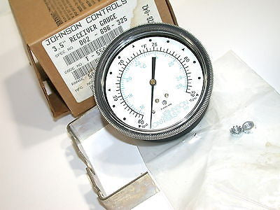 JOHNSON CONTROLS PNEUMATIC TEMPERATURE 50 to 100 ° F GAUGE T-5500-1051