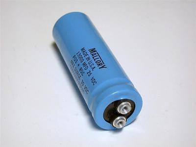 BRAND NEW MALLORY CAPACITOR 13000MFD 25VDC CGS133U025R4C (14 AVAILABLE)