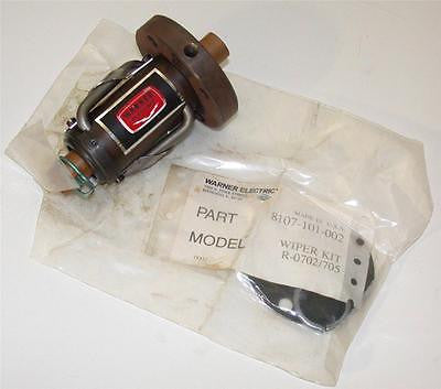 NEW WARNER ELECTRIC WIPER MOTOR KIT 8107-101-002 (2 AVAILABLE)