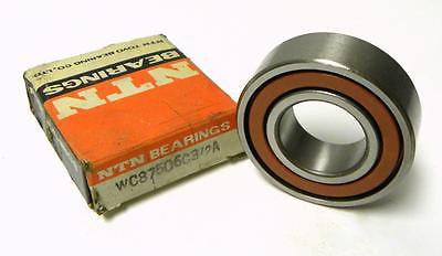 NEW NTN WC87506C3/2A SINGLE ROW BALL BEARING 30 MM X 60 MM X 16 MM