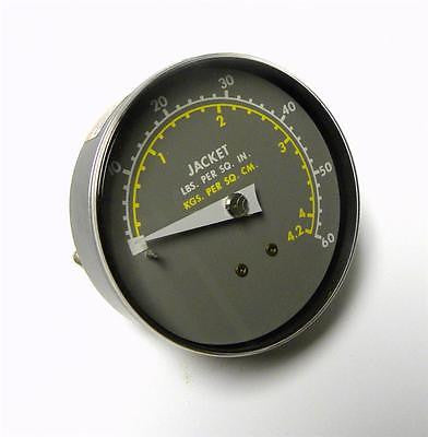 BRAND NEW JACKET PRESSURE GAUGE 60 PSI 1/8 ANPT MODEL 128654