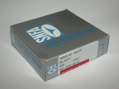 BRAND NEW IN BOX SNFA CERAMIC SUPER PRECISION BEARING VEB45/NS 7CE33T NO. 2S71