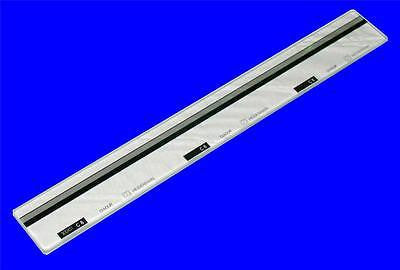 "BRAND NEW HEIDENHAIN DIADUR 1810431 C8 23"" X 1-1/2"" GLASS LINEAR SCALE"