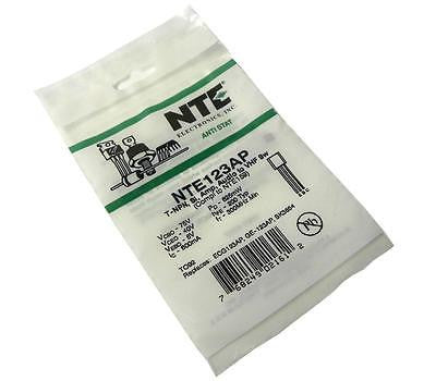 BRAND NEW NTE ELECTRONICS TRANSISTOR MODEL NTE123AP (6 AVAILABLE)