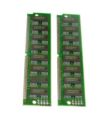 LOT OF 2 AVEX RAM MEMORY MODULE CARDS 72 PIN