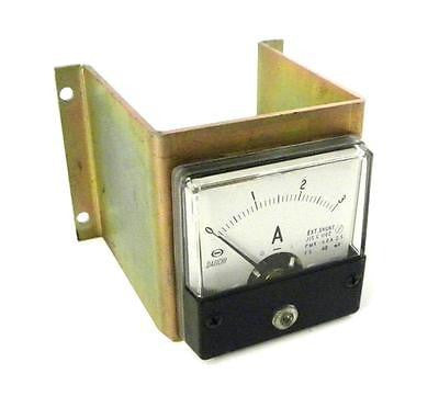 DAIICHI PMK-60A DC CURRENT METER WITH MOUNTING BRACKET (3 AVAILABLE)