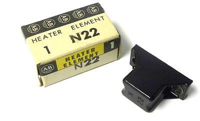 NEW ALLEN BRADLEY AB CONTACT OVERLOAD HEATER ELEMENT MODEL N22 (10 AVAILABLE)