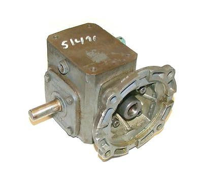 BOSTON GEAR GEARBOX RATIO 10: 1 MODEL F710-10X-B4-G-D0R