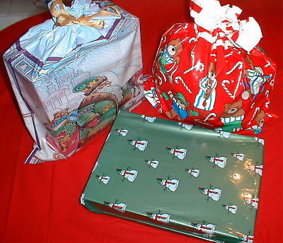 50 ASSORTED CHRISTMAS WRAPPING BAGS CLOSEOUT $250 VALUE