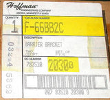 11 NEW BOXES OF HOFFMAN BARRIER BRACKETS MODEL F66BB2C