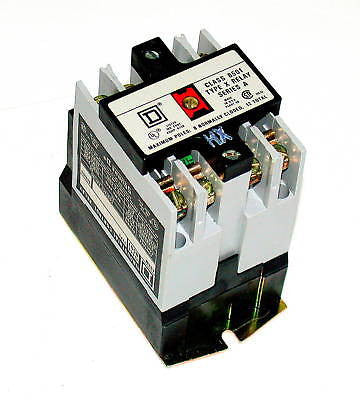 NEW SQUARE D 10 AMP CONTROL RELAY MODEL 8501-X020V03