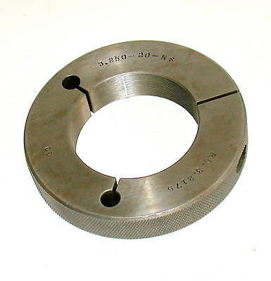 CADILLAC GAGE COMPANY THREAD RING GAGE 3.250-20-NS GO