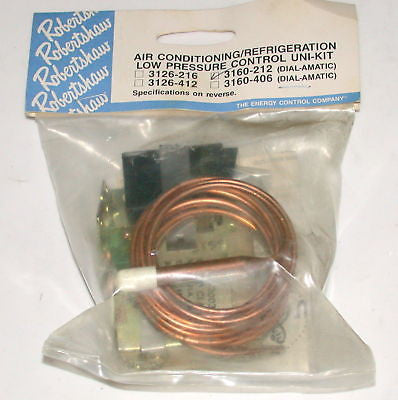 ROBERTSHAW AIR CONDITIONING LOW PRESS. CONTROL UNI-KIT