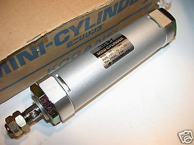 "2 NEW KOGANEI 4"" STAINLESS AIR CYLINDER 30MM BORE KA"
