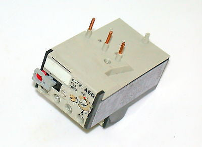 2 NEW AEG THERMAL OVERLOAD RELAYS   B17S  910-924-00