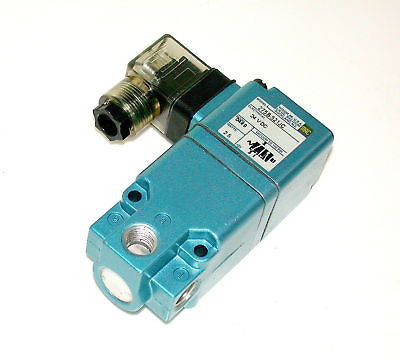 2 NEW MAC SOLENOID VALVES 24 VDC 2.5 W MODEL 275B-521JC