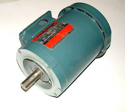 3 RELIANCE 3 PHASE AC MOTORS 1 HP MODEL P14H1448S