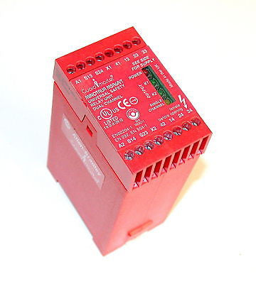 ALLEN BRADLEY MINOTAUR SAFETY RELAY UNIT MODEL MSR6R/T (2 AVAILABLE)