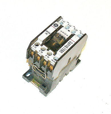 GENERAL ELECTRIC MOTOR STARTER RELAY 10A MODEL CR7CA