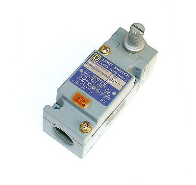 NEW SQUARE D HEAVY DUTY LIMIT SWITCH 10 AMP   9007C62A2