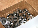 "BOXES OF 100 STAINLESS STEEL 1/4"" LOCK WASHERS"