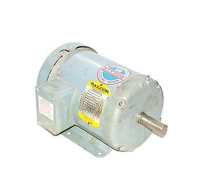 BALDOR 1 HP 3 PHASE AC MOTOR 208-230/460 V MODEL M3546T