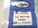 UP TO 25 SETS - 10 NEW JERGENS STAINLESS SPRING PLUNGERS -FREE SHIPPING