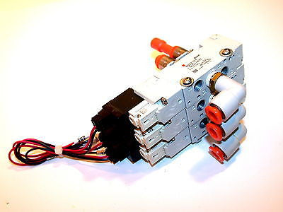 UP TO 2 SMC 3 SOLENOID 24V ASSEMBLY VQZ2121-5LO-N7T