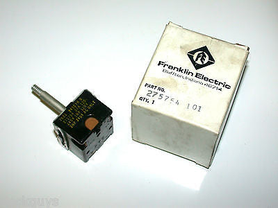 BRAND NEW IN BOX FRANKLIN ELECTRIC SWITCH 275754 101 (QTY:6)