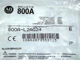 BRAND NEW ALLEN BRADLEY GREEN INDICATING LIGHT 800A-L2AG24 (19 AVAILABLE)