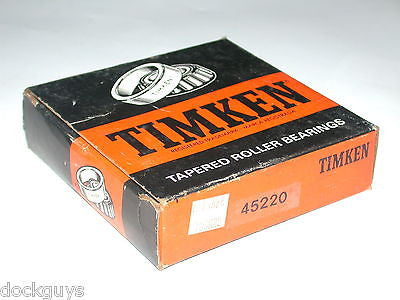BRAND NEW IN BOX TIMKEN TAPERED BEARINGS OUTER RACE CUP 45220