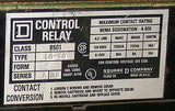 2 SQUARE D CONTROL RELAYS 110/120 VAC  MODEL 8501L0-40