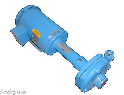 NEW 1.5 HP INGERSOLL DRESSER QUICK TURN PUMP 230/460 V