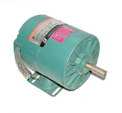 NEW 1/3 HP RELIANCE 3 PHASE AC MOTOR  MODEL PEEH3005M