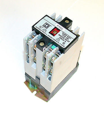 NEW SQUARE D CONTROL RELAY 20 AMP MODEL 8501 XM0 60