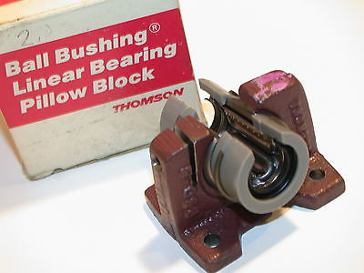 "NEW THOMSON 1/2"" BALL BEARING PILLOW BLOCK PBOPN-8-A"