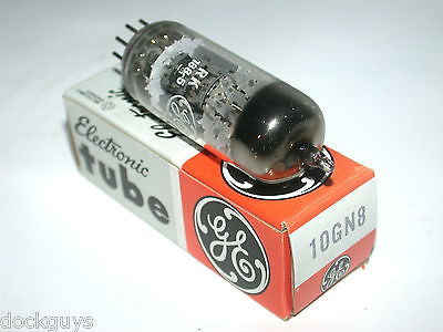 BRAND NEW IN BOX GENERAL ELECTRIC GE ELECTRONIC TUBE 10GN8 (5 AVAILABLE)
