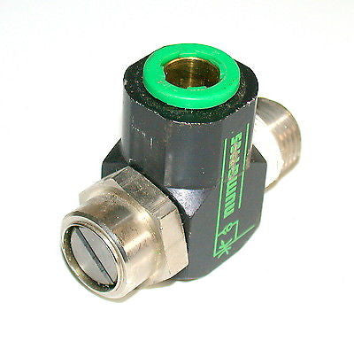"4 NUMATICS 1/2"" FLOW CONTROL VALVES 1/2"" NPT TEE    (4 AVAILABLE)"