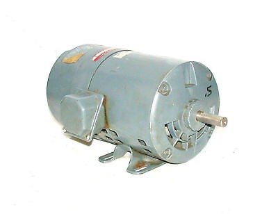GE 1/2 HP 3 PHASE AC MOTOR230/460 VAC MODEL 5K42H62696