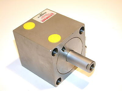 "5 NEW COMPACT SQUARE 1 1/4"" DOUBLE END AIR CYLINDER CR3ASD2X114 - 3 AVAILABLE"