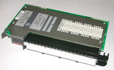 ALLEN BRADLEY ISOLATED 120V AC INPUT MODULE 1771-ID16A
