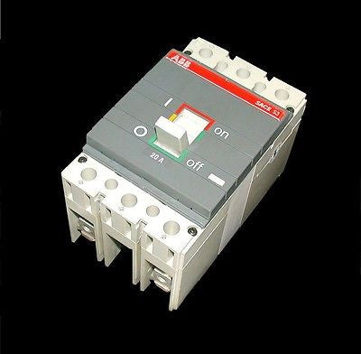 2 POLE ABB 20 AMP CIRCUIT BREAKER 400 VAC  MODEL SACES3