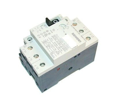 NEW SIEMENS MOTOR OVERLOAD RELAY  2.4-4 AMP MODEL  3VU1300-1MJ00