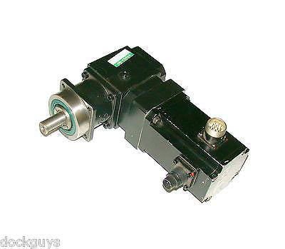 BERGER LAHR BRUSHLESS AC SERVOMOTOR AND GEARHEAD ASSEMBLY MODEL D313-002AL